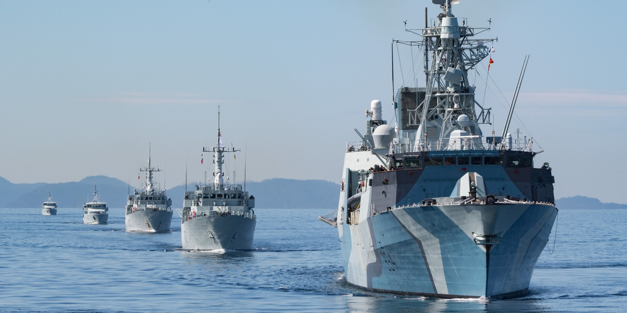 Much of Canada's Pacific Fleet Now Circling the Waters off Vancouver Island to Avoid Coronavirus