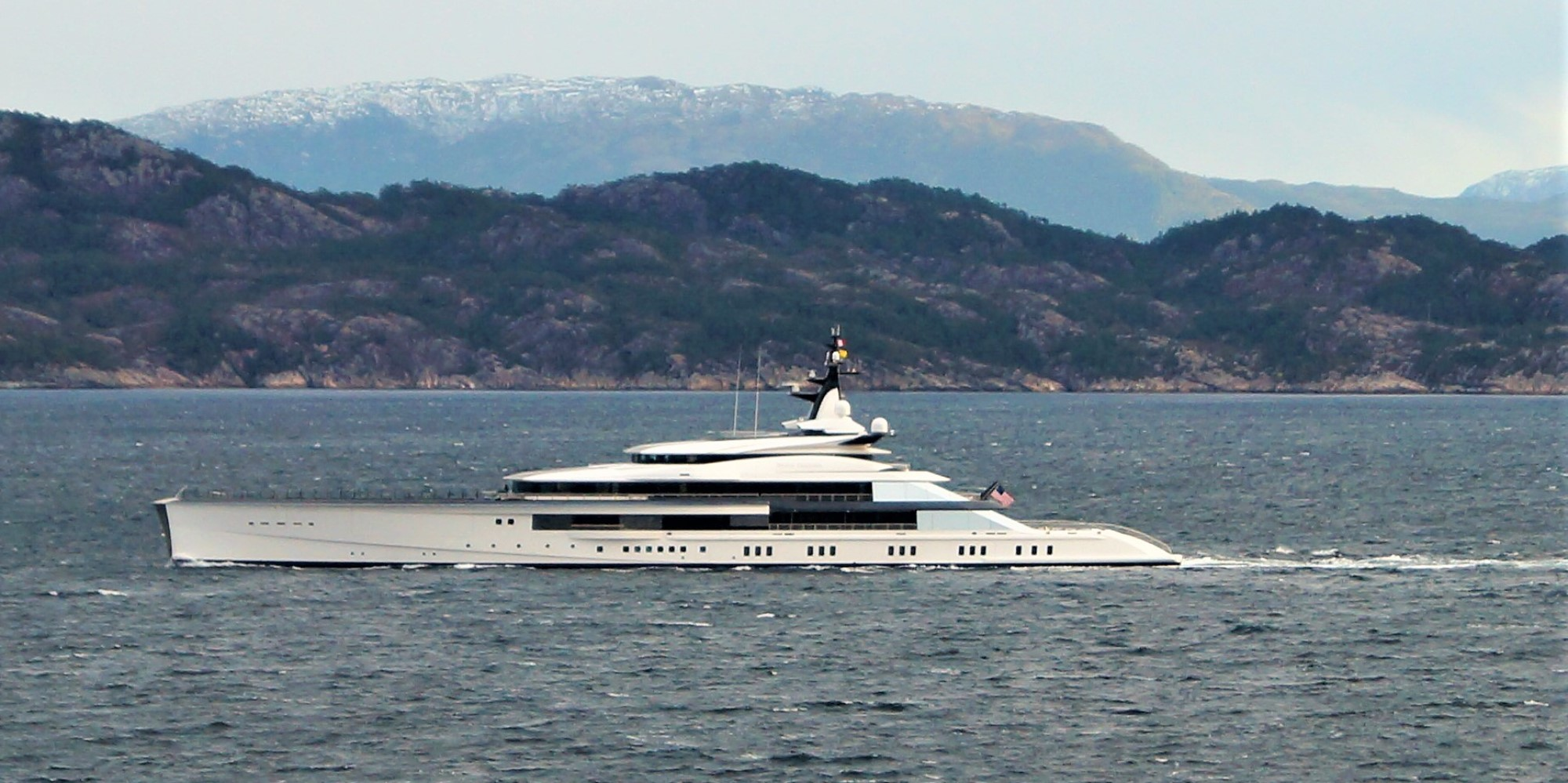 Should our waters have all these American yachts in them?