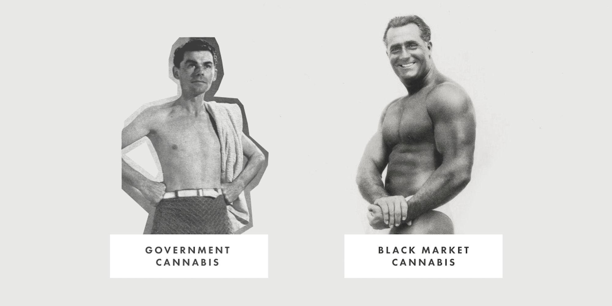BC's lacklustre cannabis legalization, charted