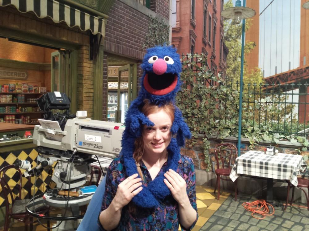International puppetry star Ingrid Hansen delighting distanced Victorians
