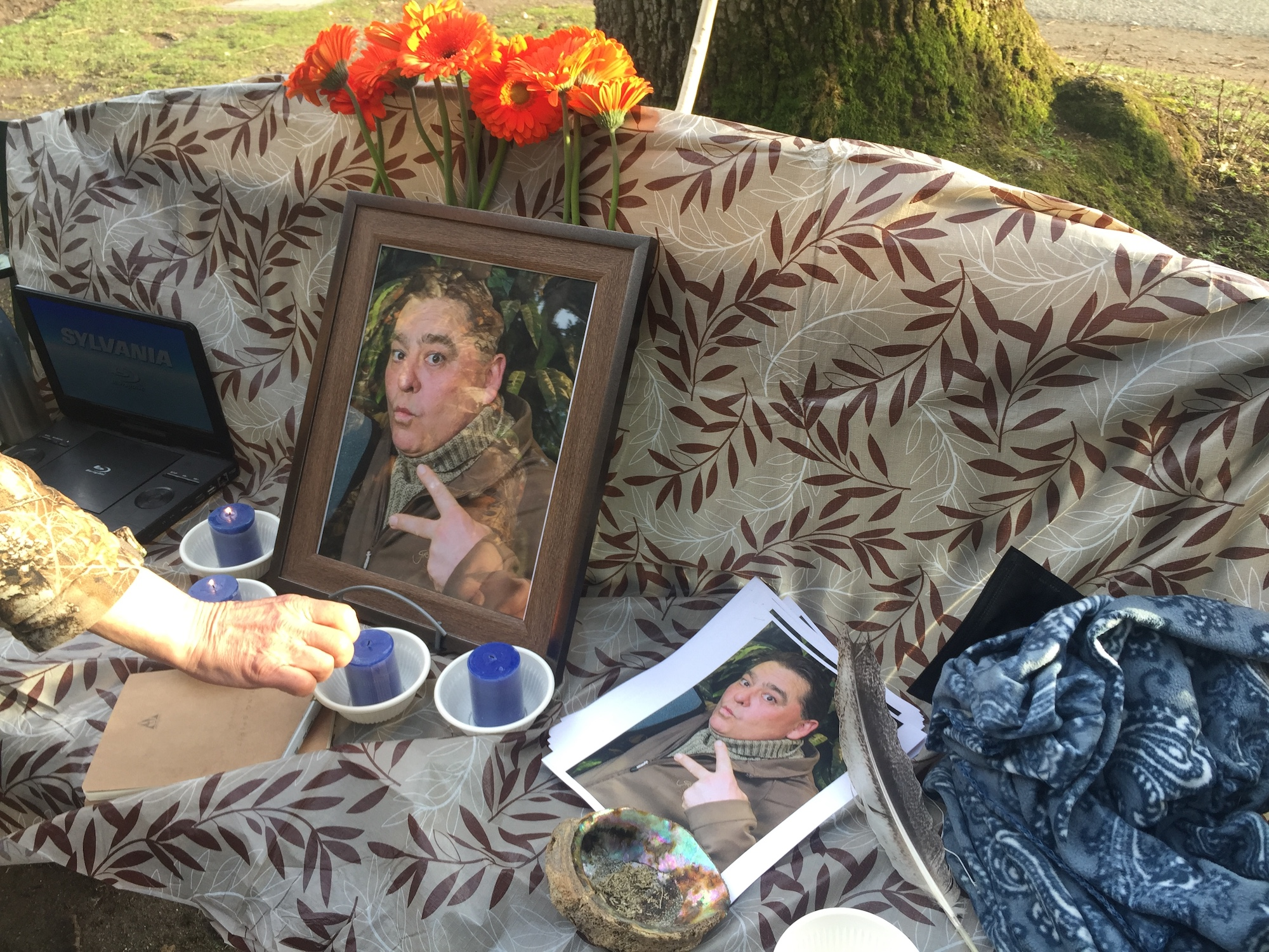 Van life and death: a memorial ceremony in Beacon Hill Park remembers man who died in van fire