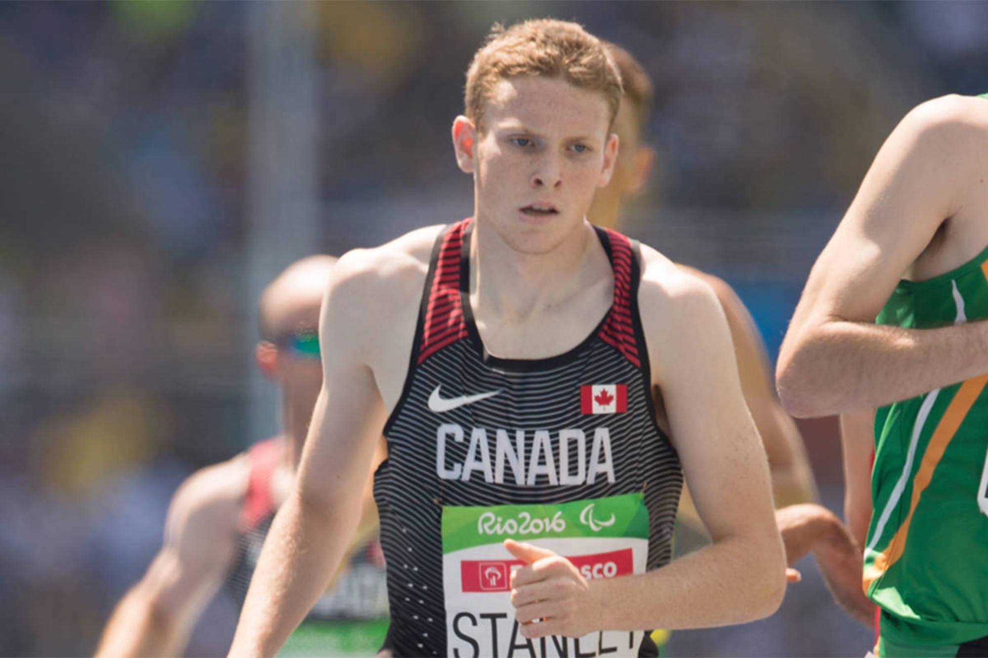 Liam Stanley was born to run