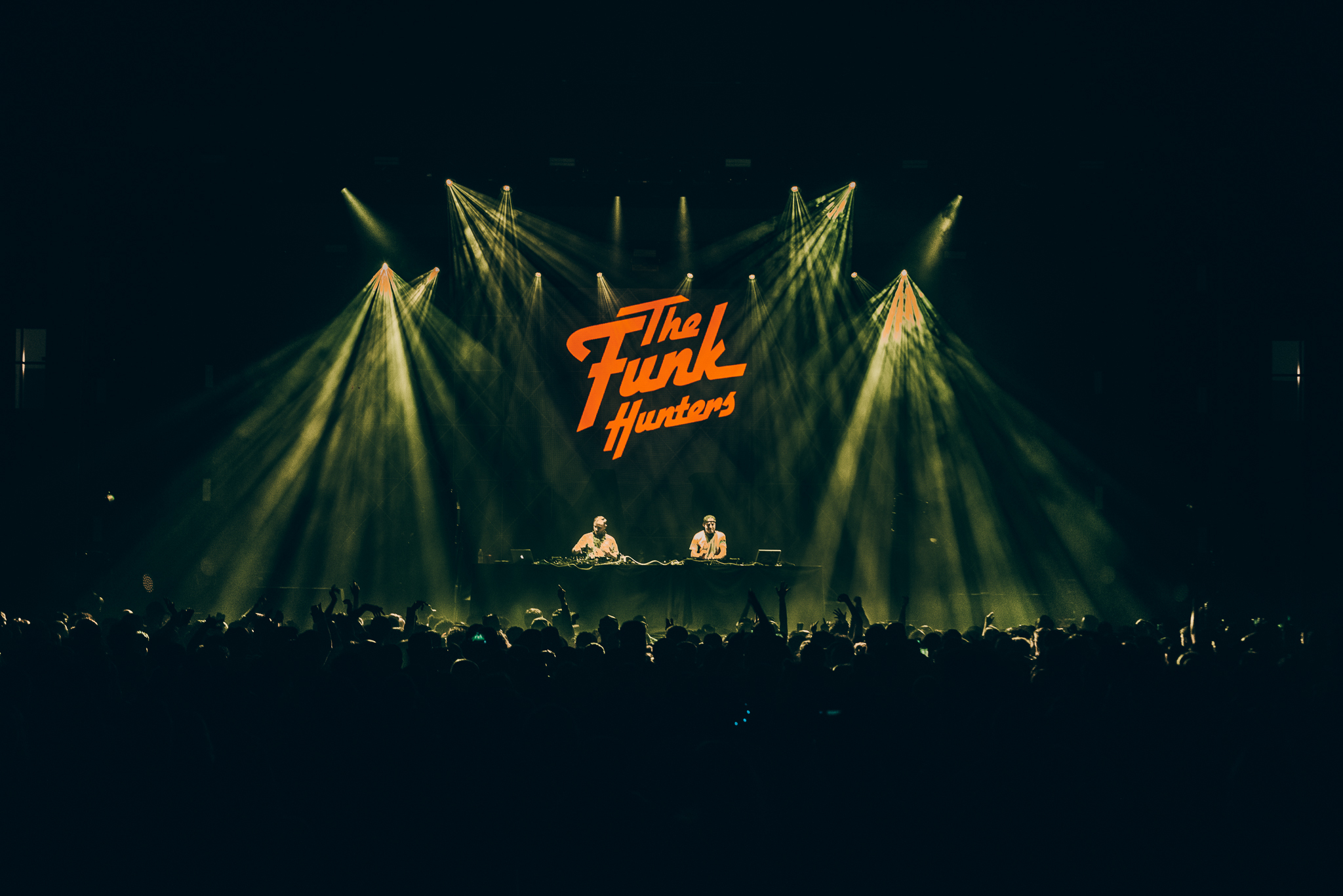 The Funk Hunters chase down an online audience