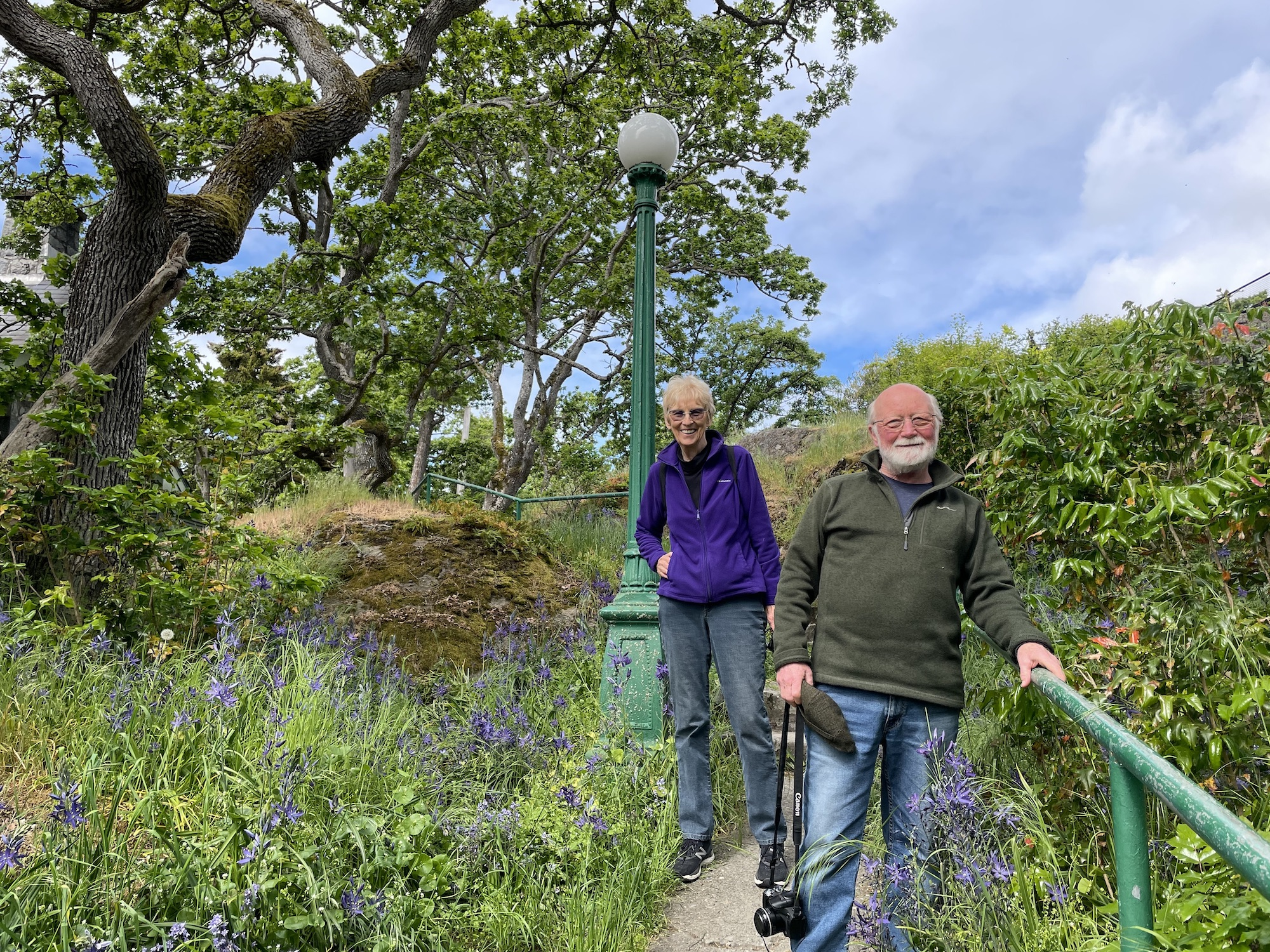 Decades-long restoration project helps Oak Bay footpath get back to its roots