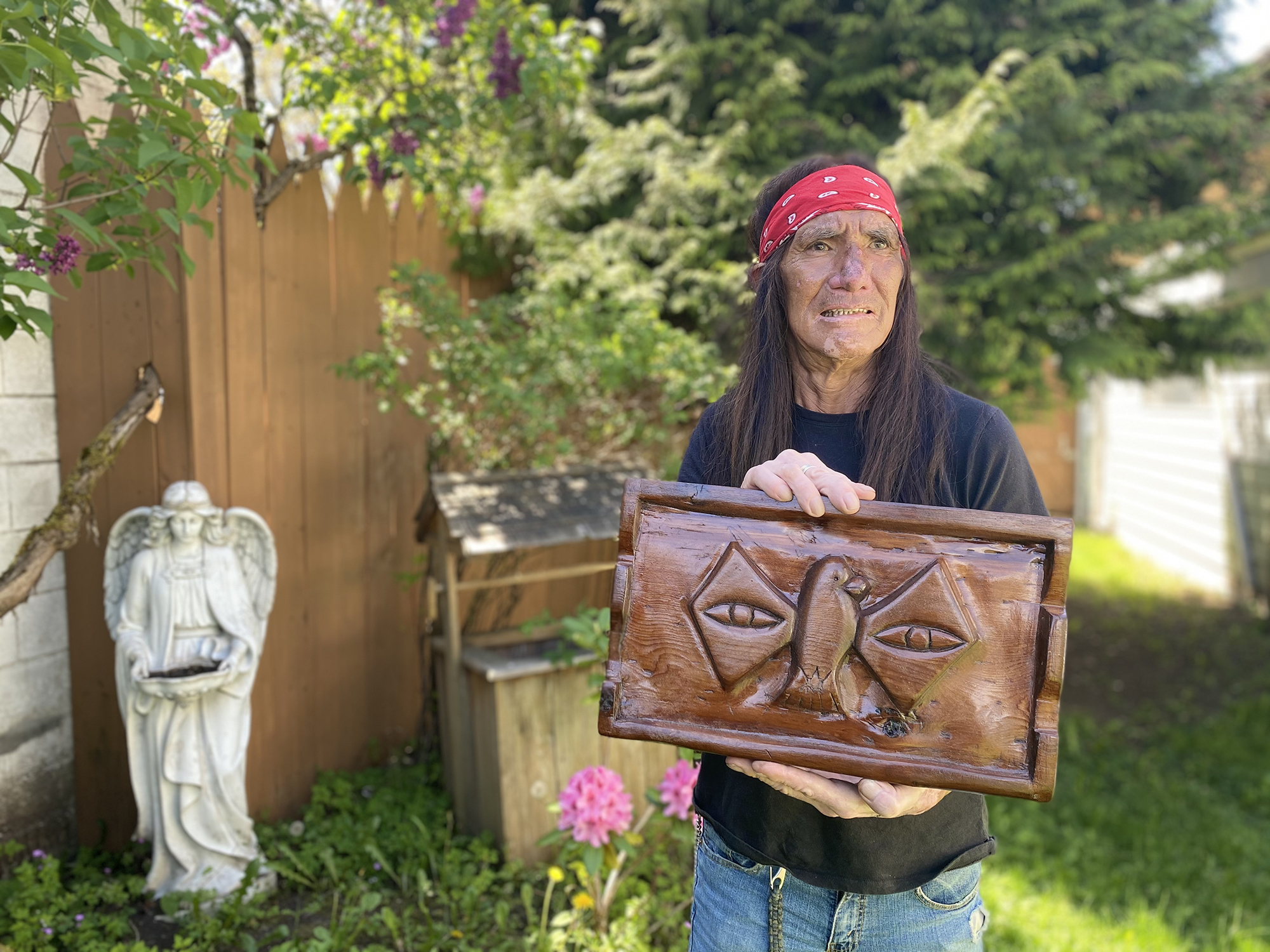 Andy Charles, the Scia'new First Nation man with nine lives