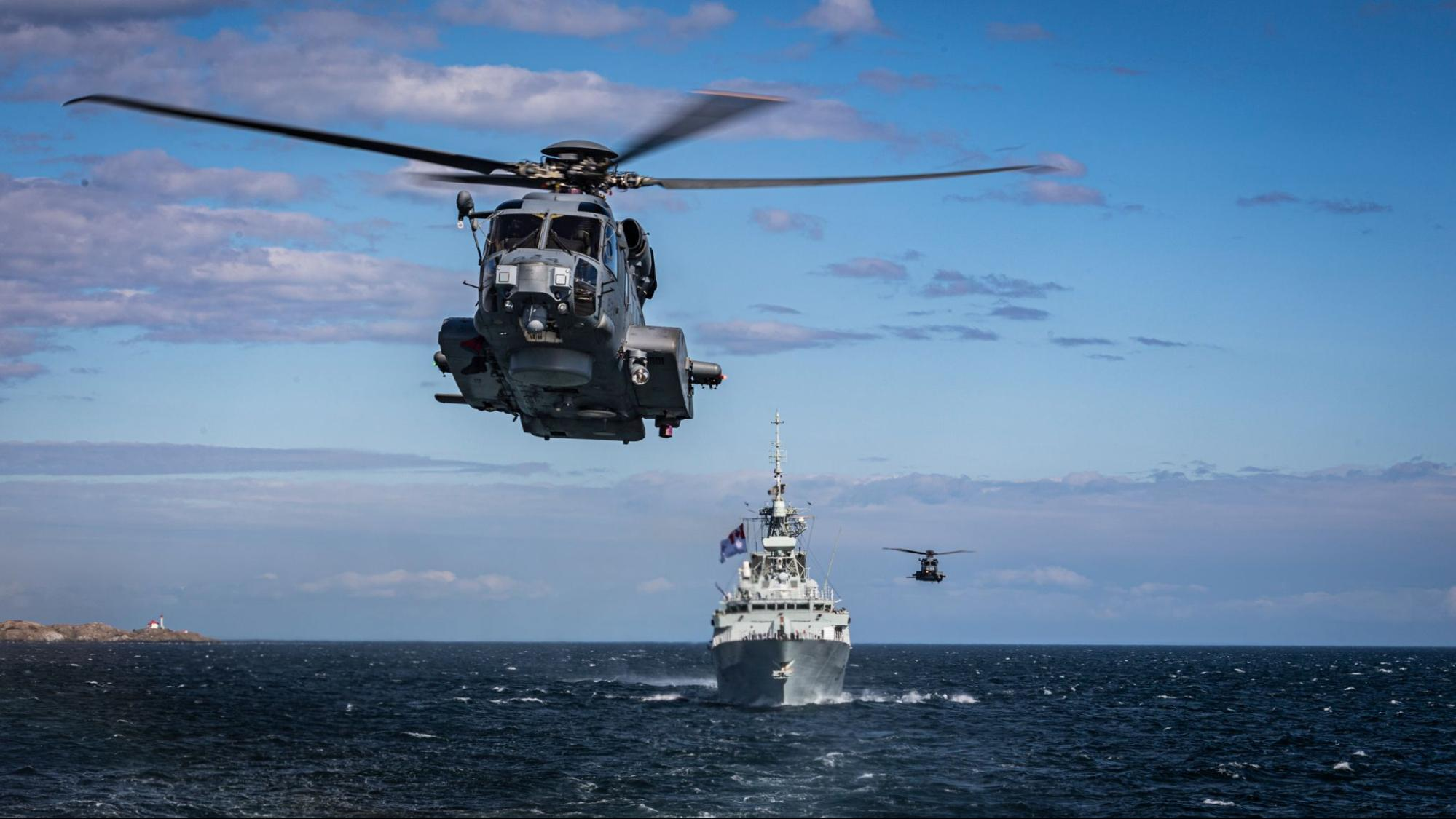 How the Pacific Fleet secures Canada's waters, borders, and business