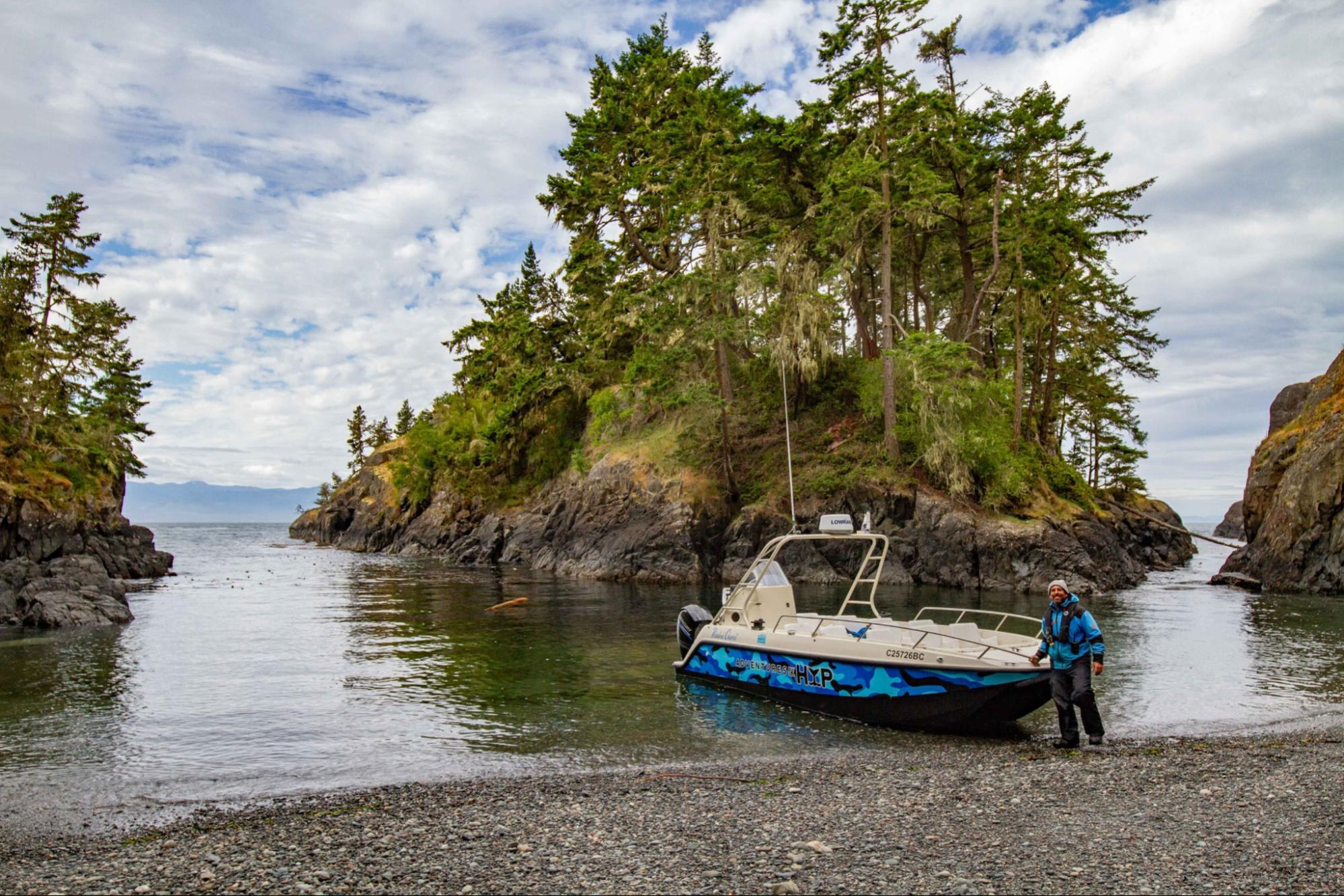 Mike Walsh and Sarah Pillon want to have the coolest adventure company in Sooke