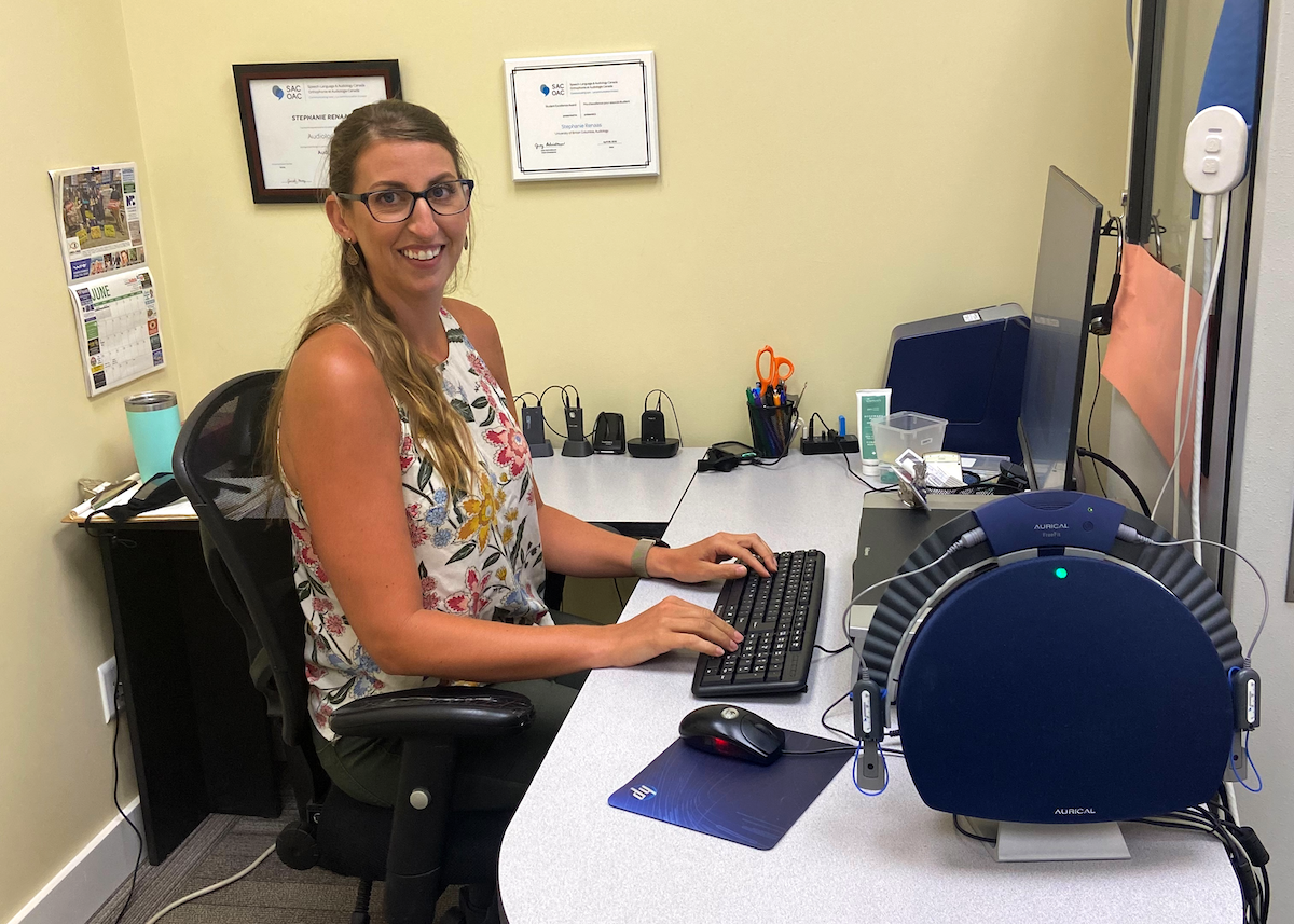 From patient to provider: Stephanie Renaas's journey to audiology