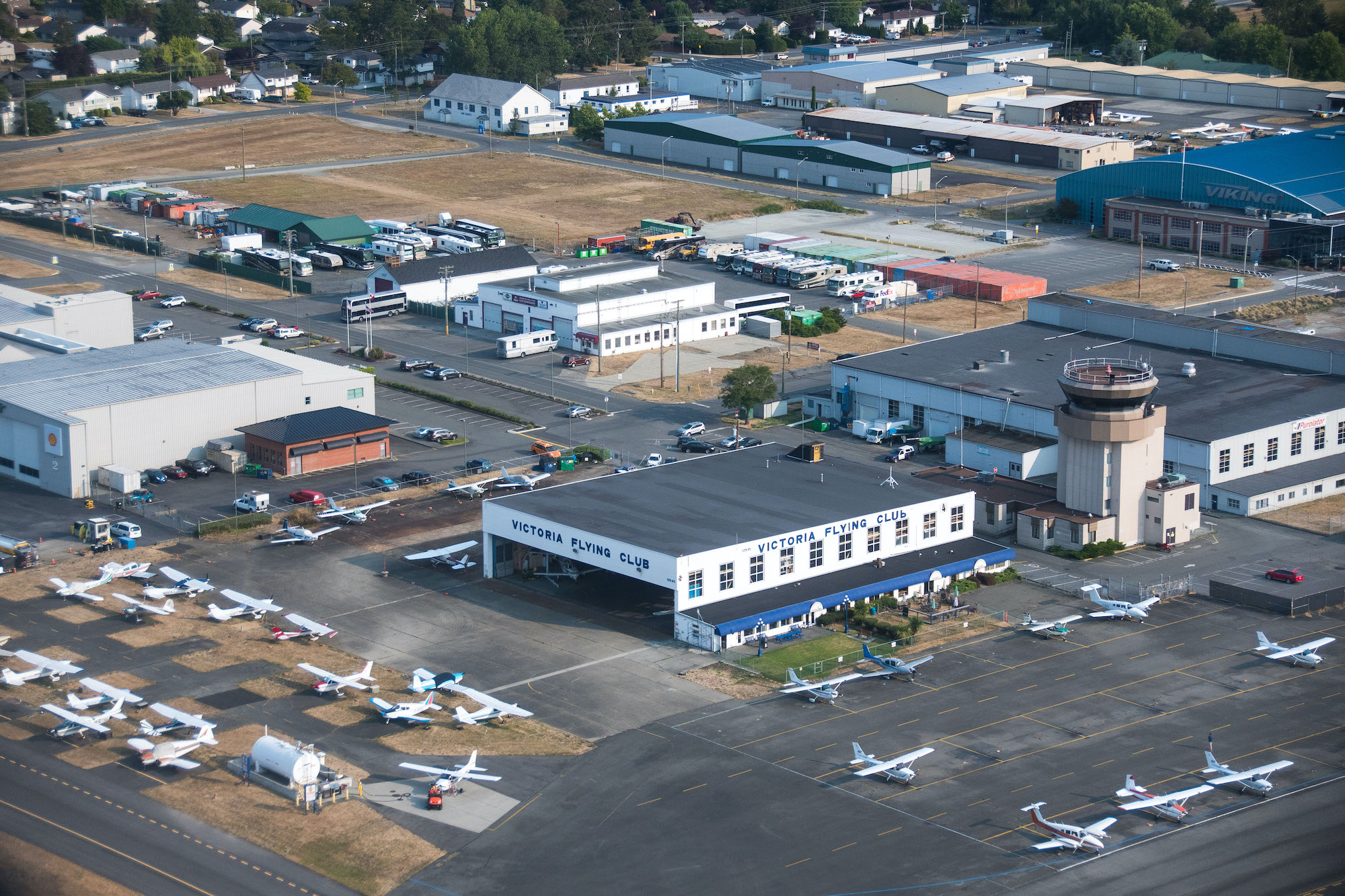 As air travel returns, the Victoria Flying Club looks to take off