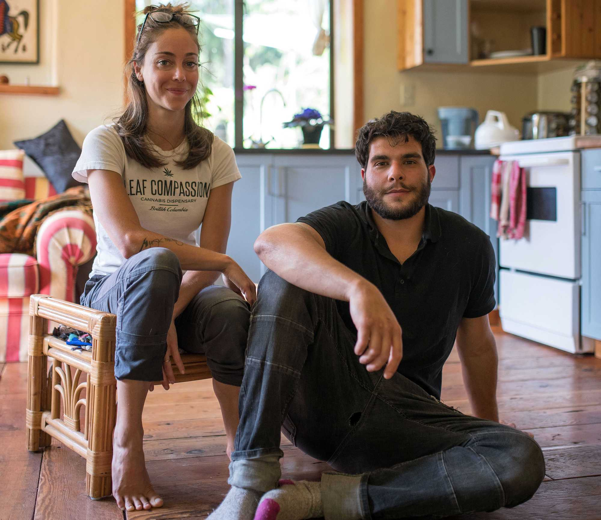 Meet Omrane and Sarah—the entrepreneurs about to lose their home
