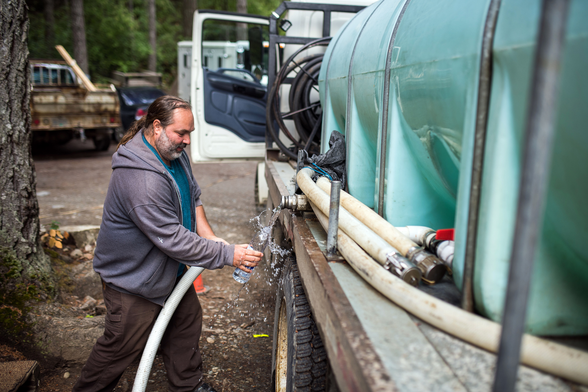 Meet Rhonan Heitzman—the water delivery man with big ideas for Salt Spring's future