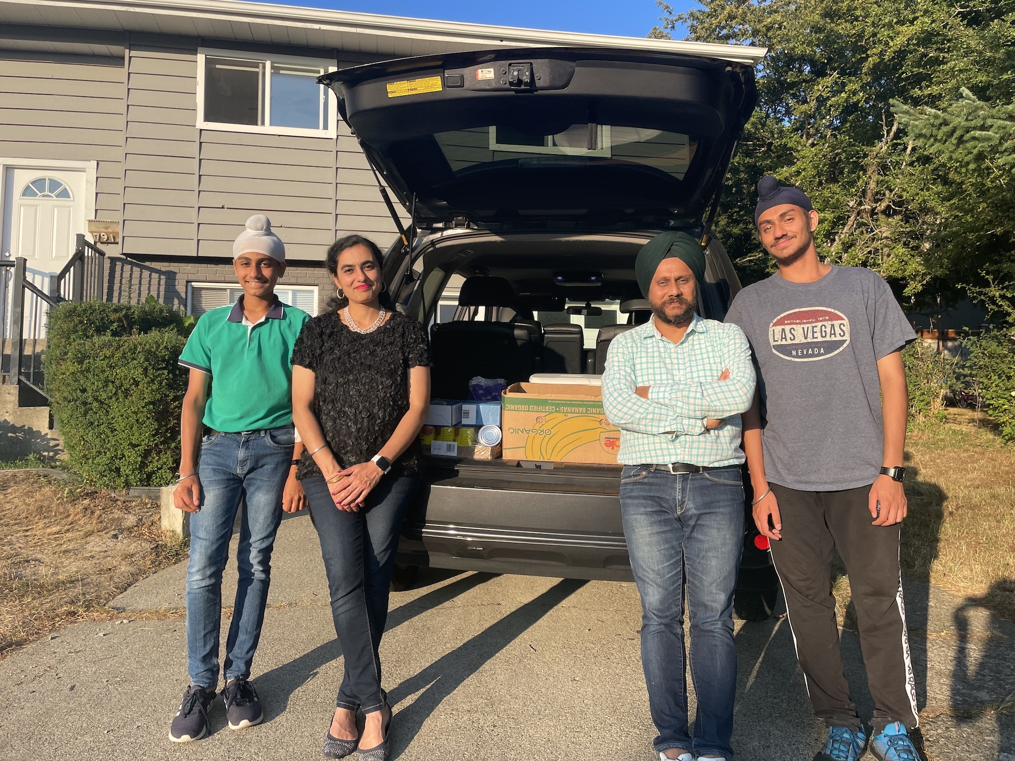 Family-run charity Fateh Care brings free access to food, medical care, and more to hundreds of Vancouver Island residents
