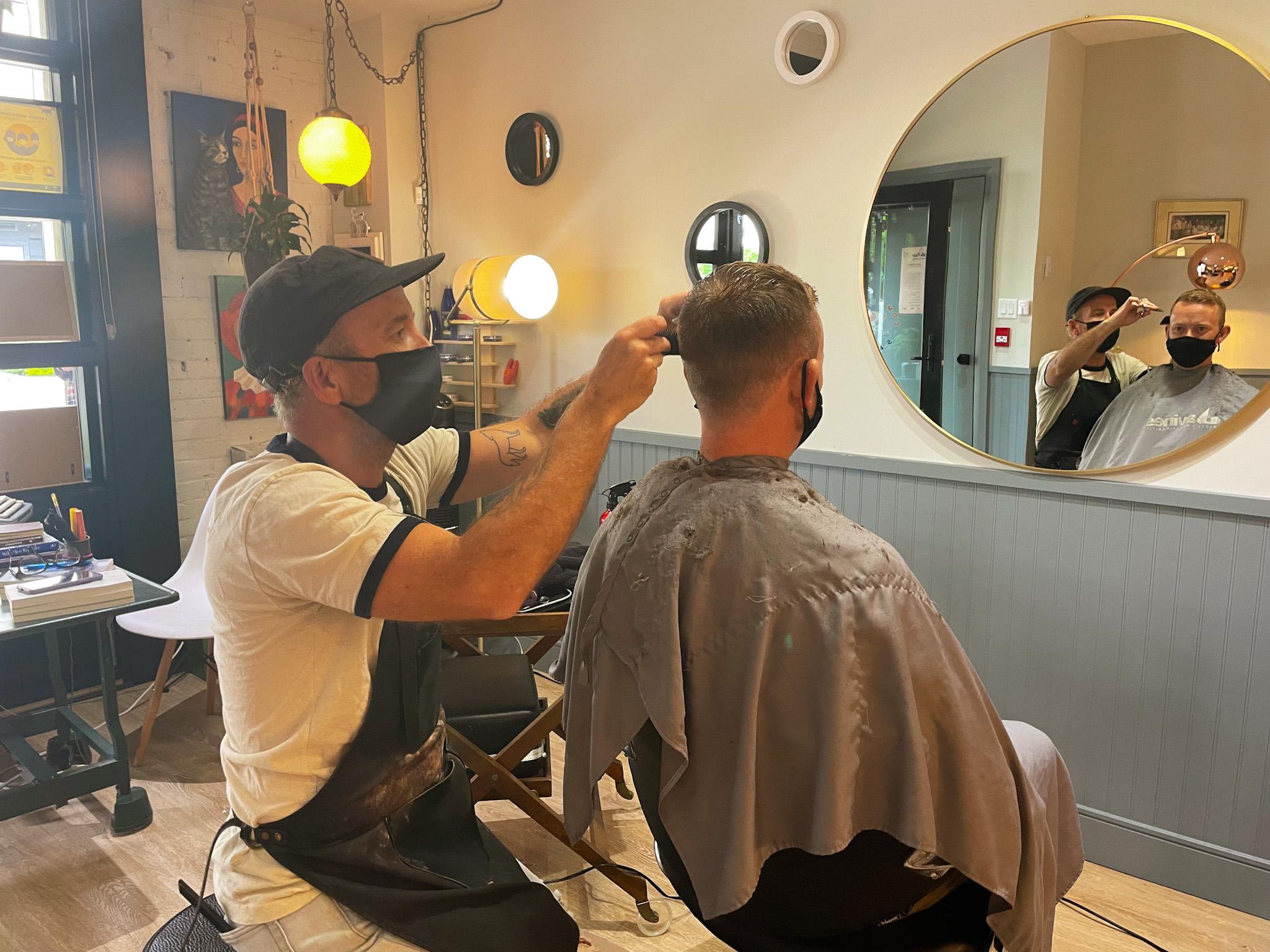 Fair hair: Community Salon's 'hair bank' provides barrier-free haircuts to Victoria locals