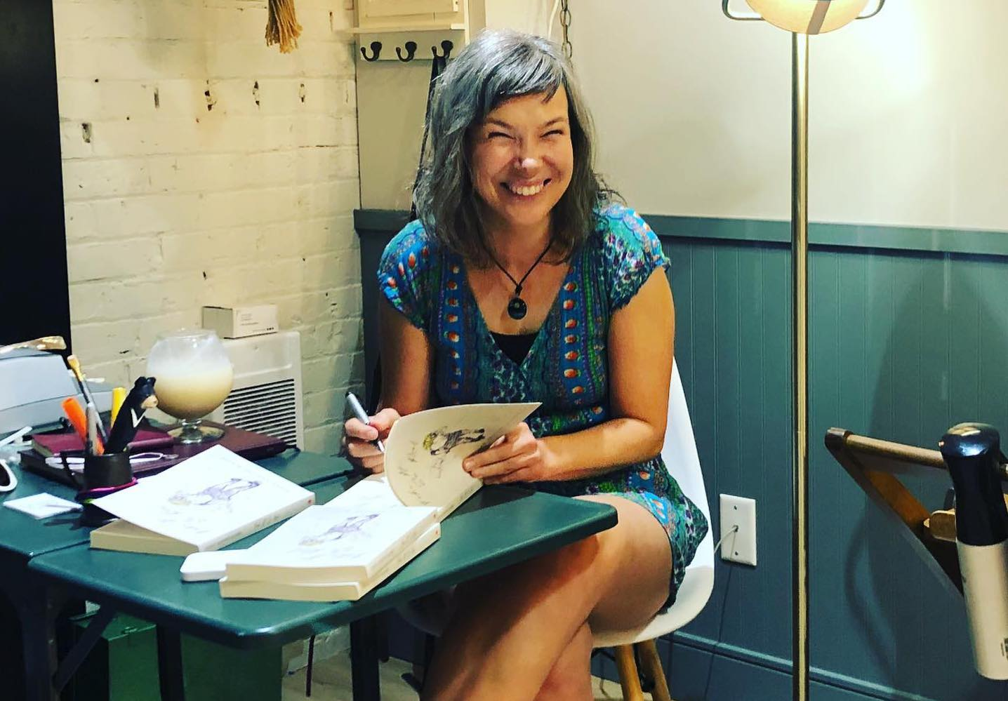 Victoria-based Susan Sanford Blades's debut novel, Fake It So Real, earns awards and nominations