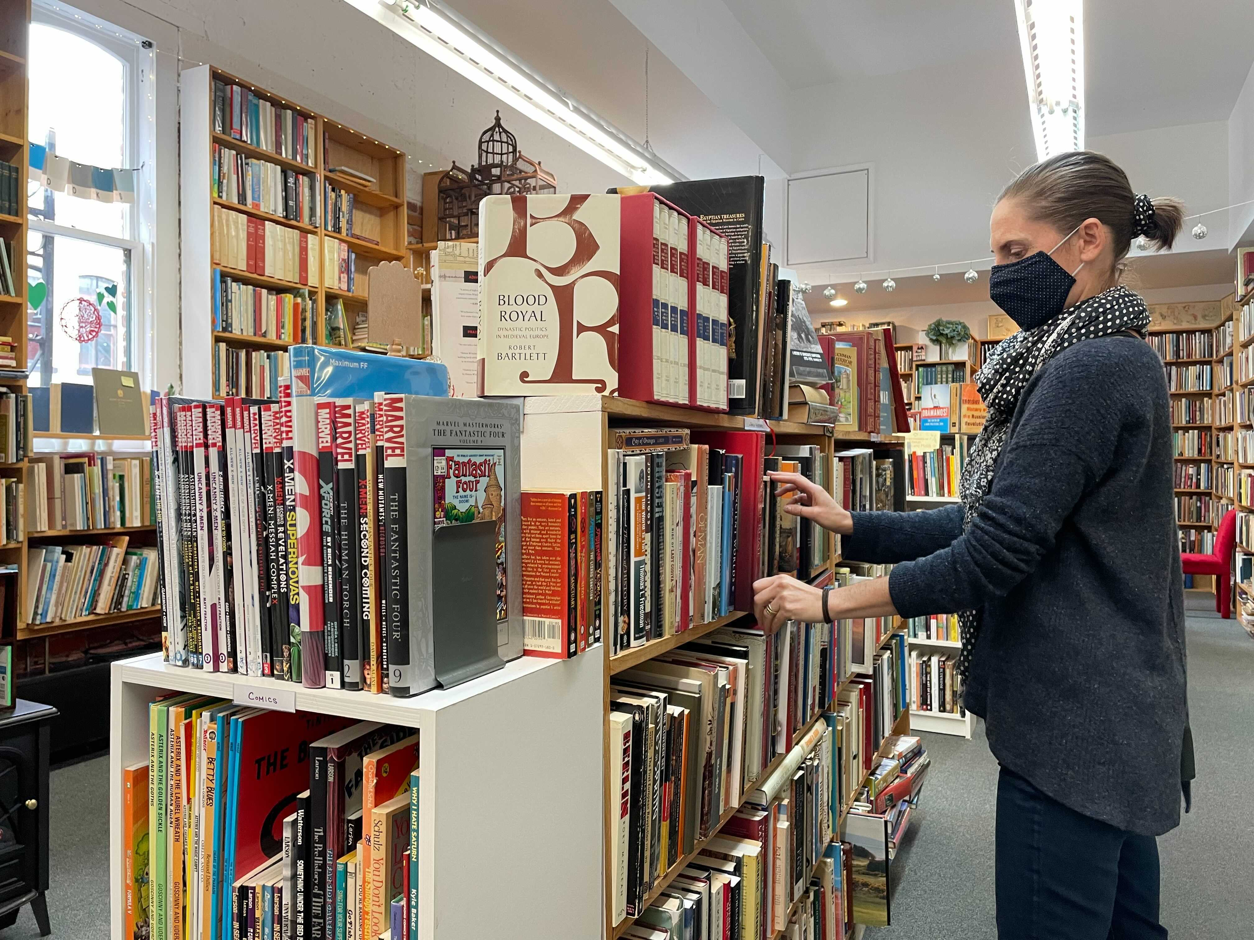 'It was like serendipity': How a second-generation Victoria bookseller gave Bastion Books new life