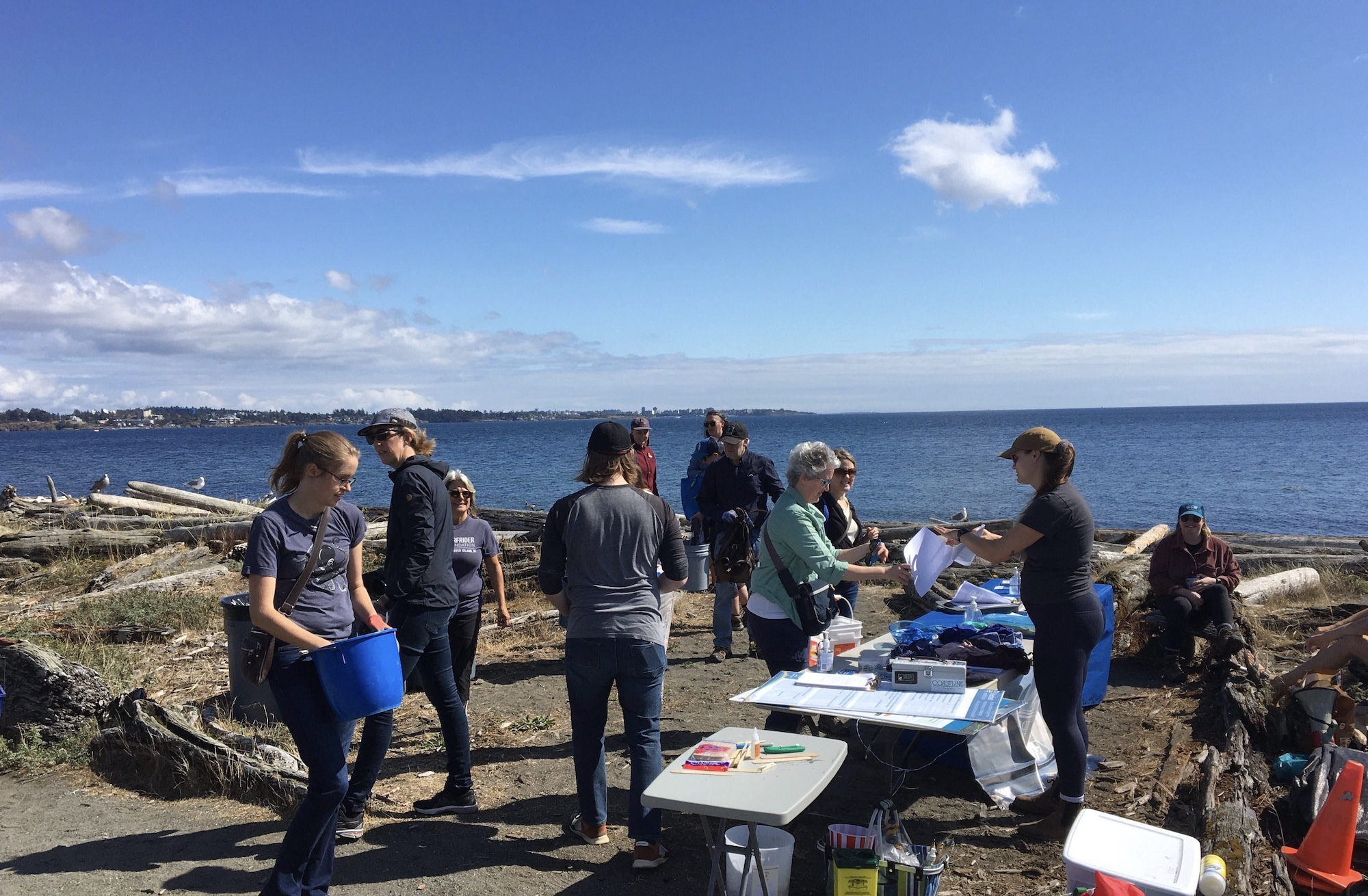 Surfrider Vancouver Island brings back in-person beach cleanups, engages community with 'citizen science'
