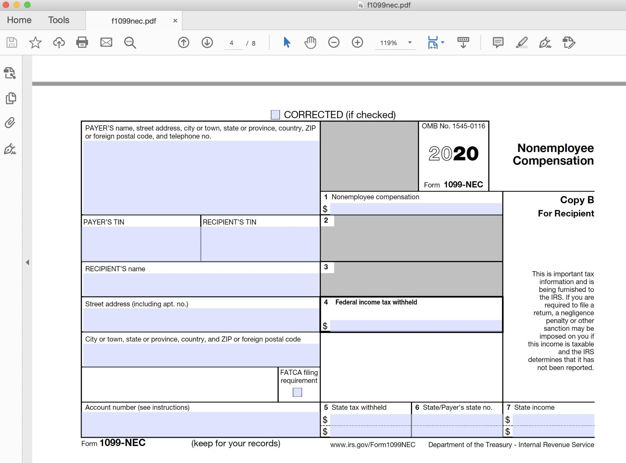 pixel-perfect PDF form