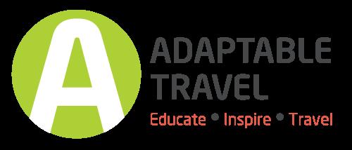 adaptable travel logo