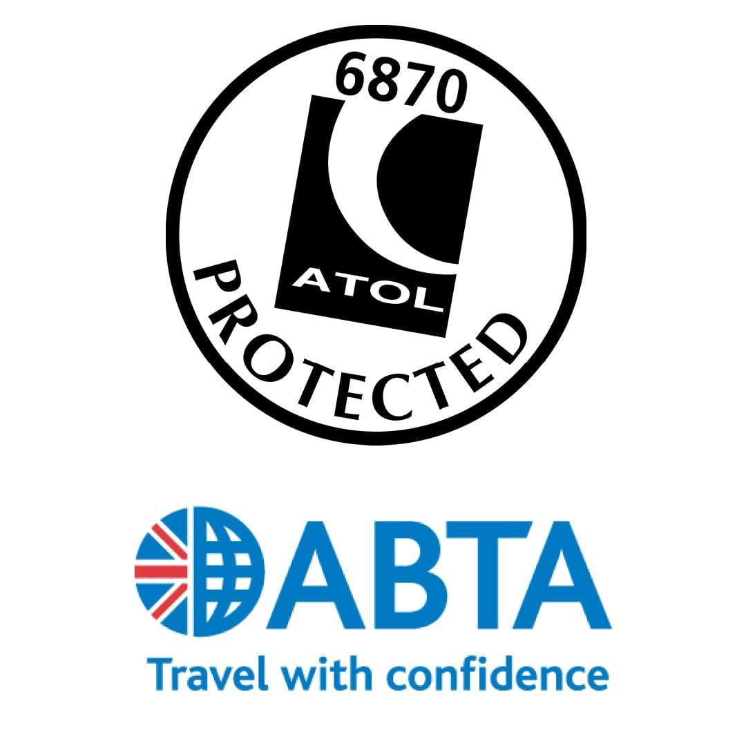 atol and abta logos showing financial security on educational visits