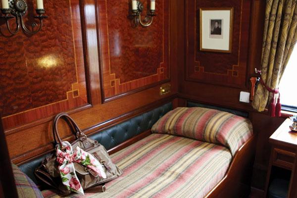 Belmond Royal Scotsman Single Cabin