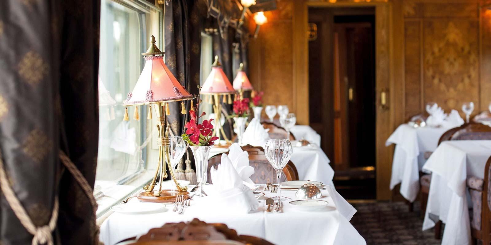 Belmond Eastern Oriental Express Dining