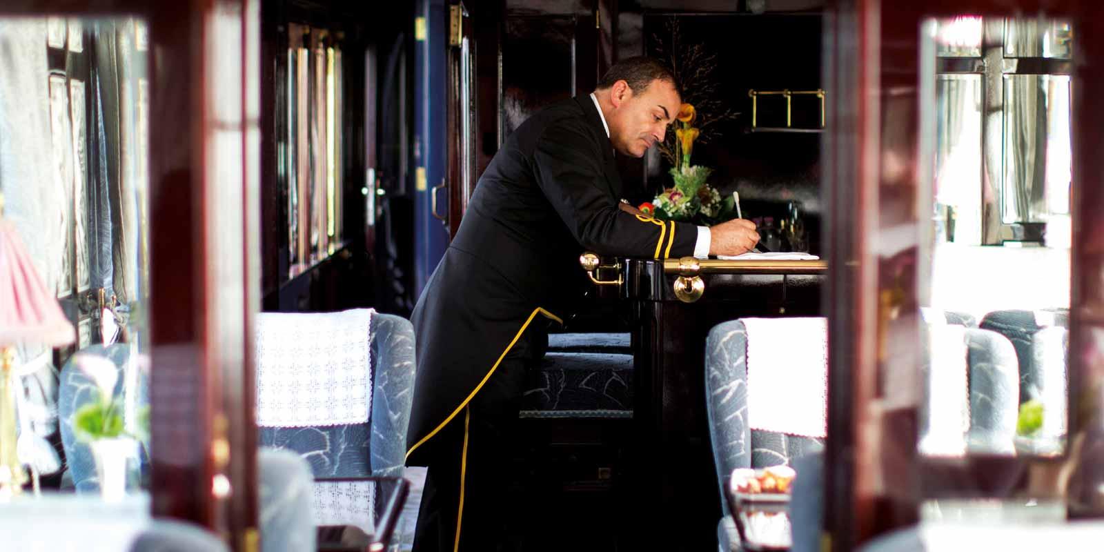 Belmond Venice Simplon-Orient-Express Steward