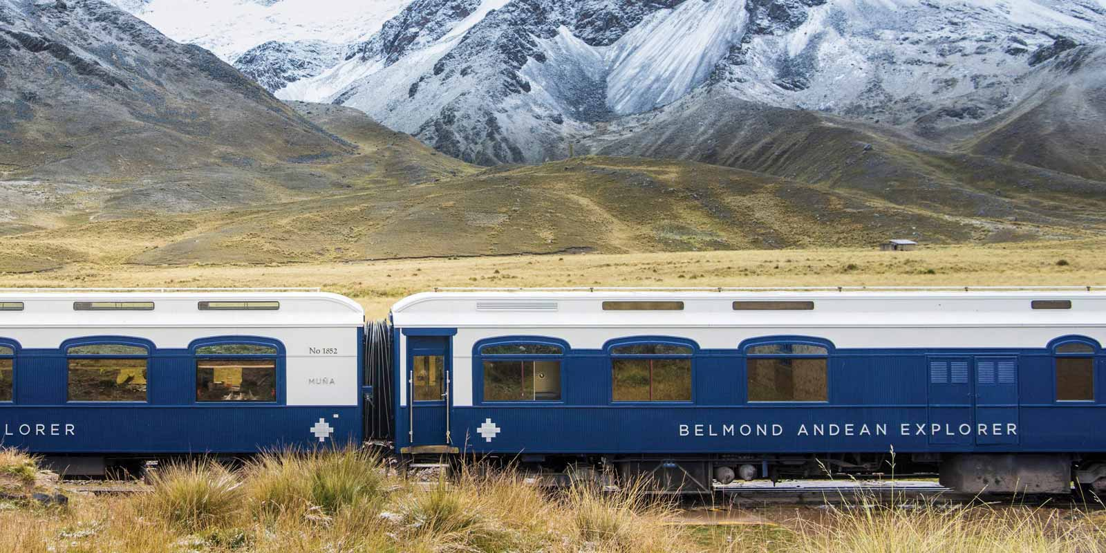 Belmond Andean Explorer Scenery