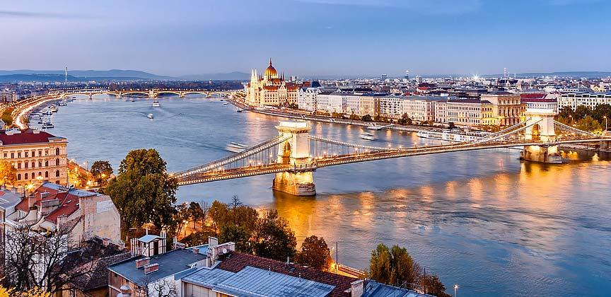 Train Holidays Europe Budapest to London