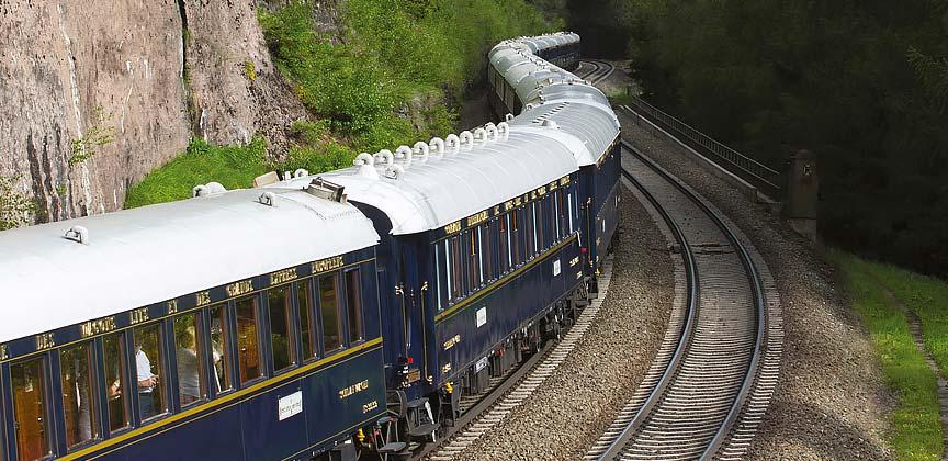 Train Holidays Europe Prague to London
