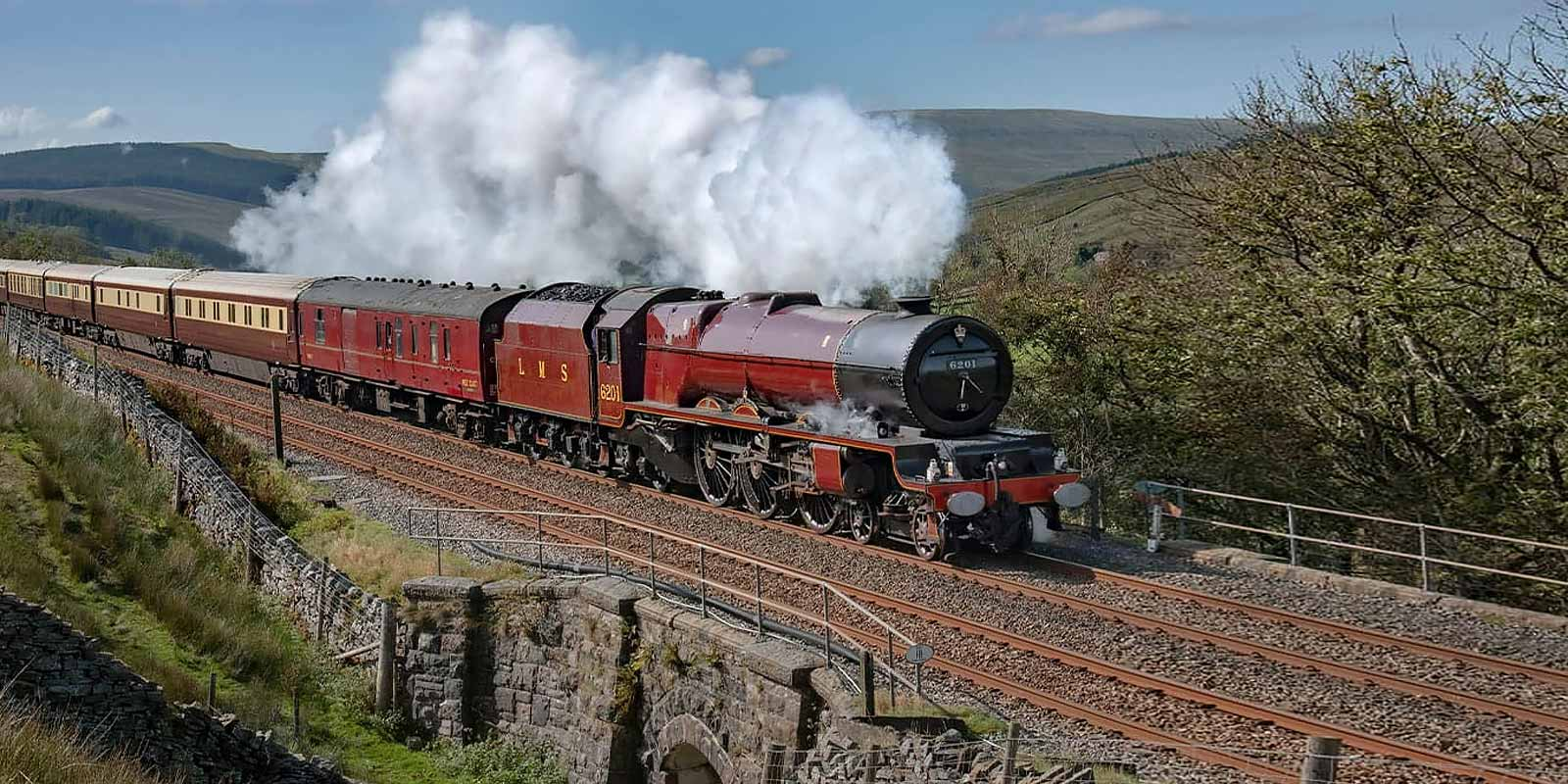 Northern Belle Settle and Carlisle Steam Special