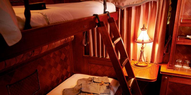 Belmond Eastern & Oriental Express Pullman Cabin