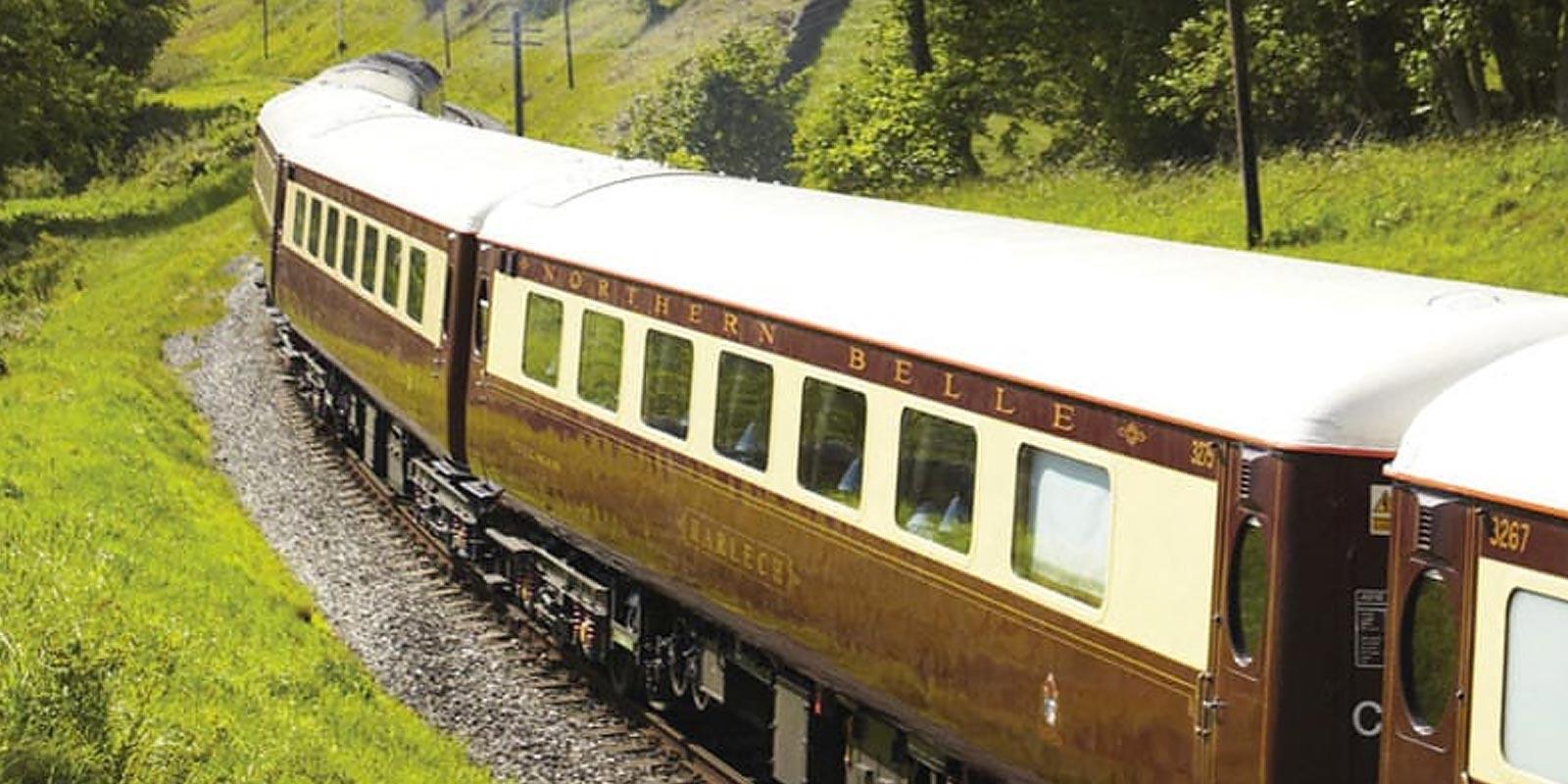 Northern Belle Caernarfon Castle Luxury Train Journey