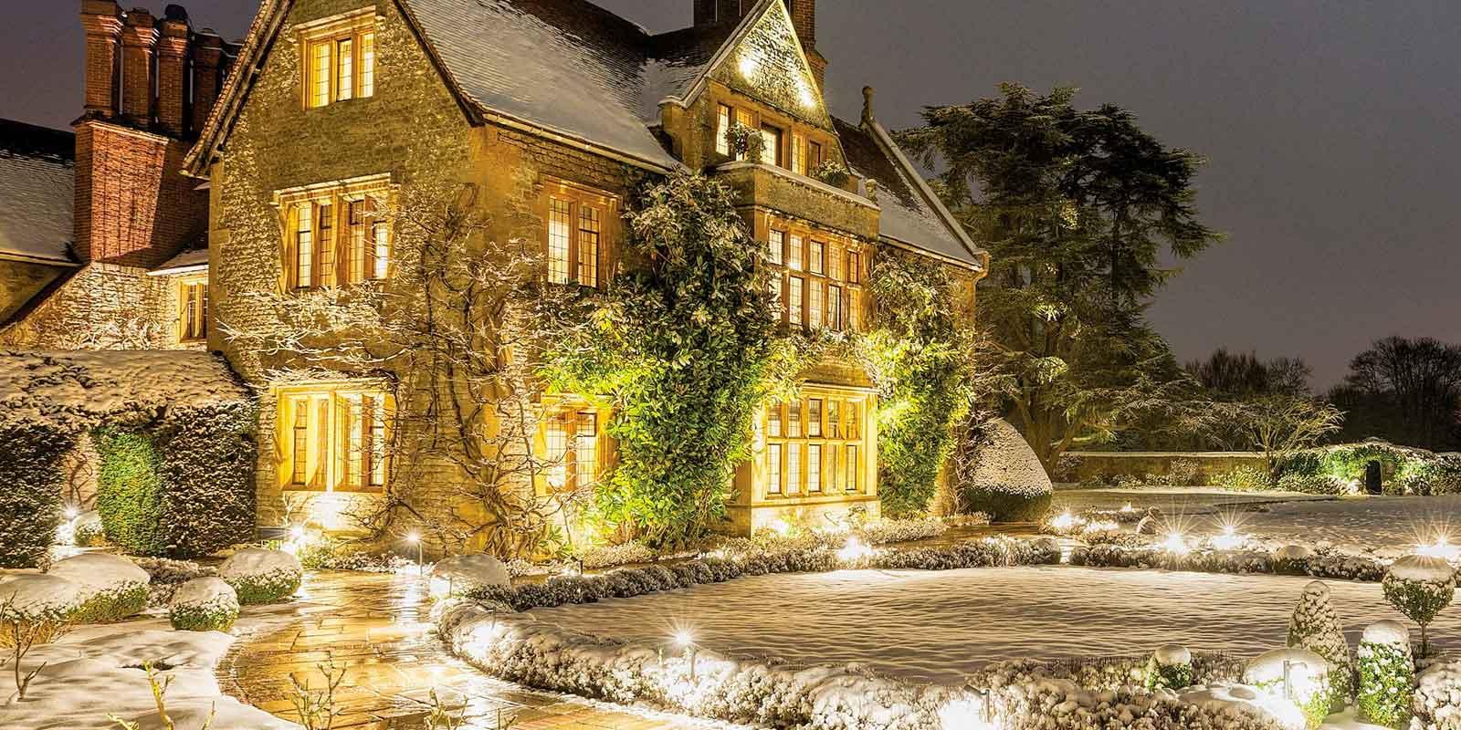 Belmond Le Manoir at Christmas
