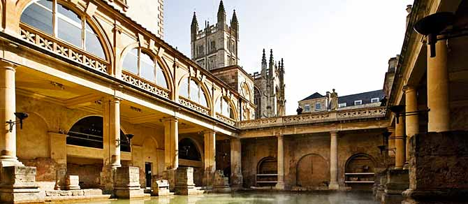Historic Bath by British Pullman