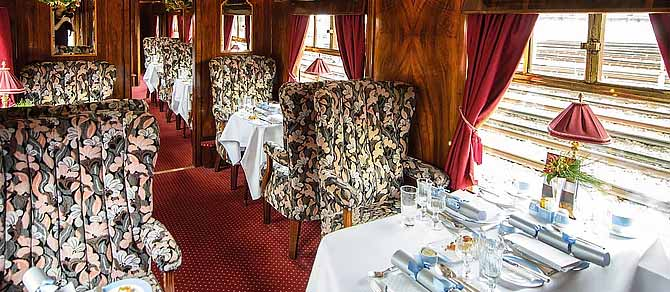 British Pullman Christmas Lunch
