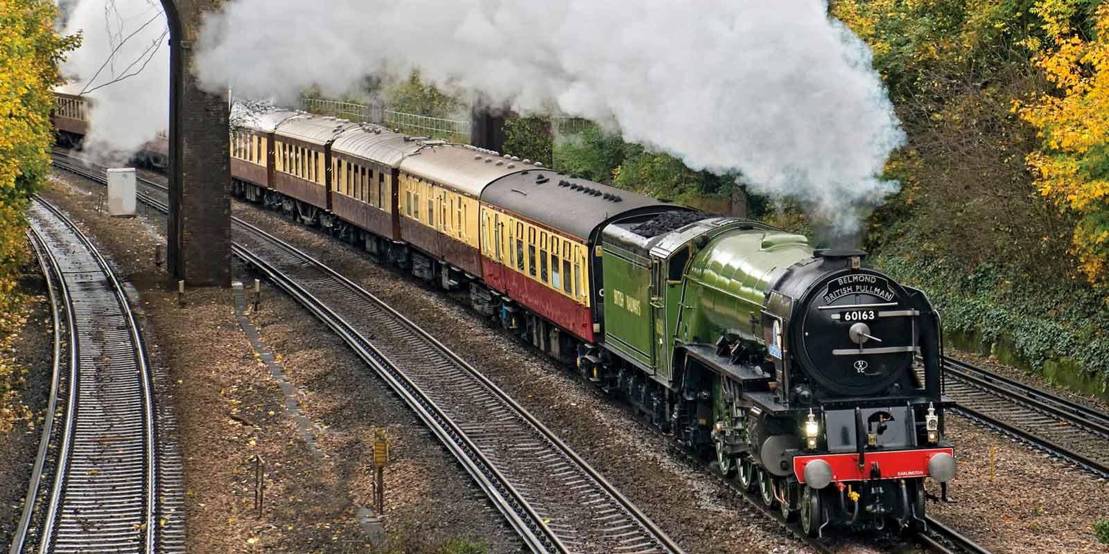 Luxury Train Staycations