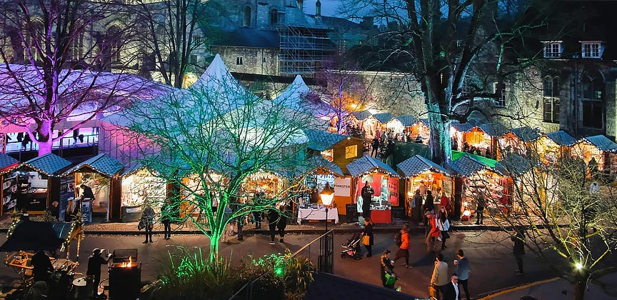 Christmas market journeys