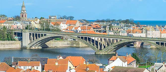 Northern Belle Berwick Upon Tweed at Leisure Luxury Train Journey