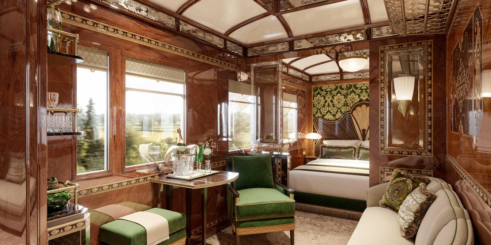 3 New Venice Simplon Orient Express Grand Suites