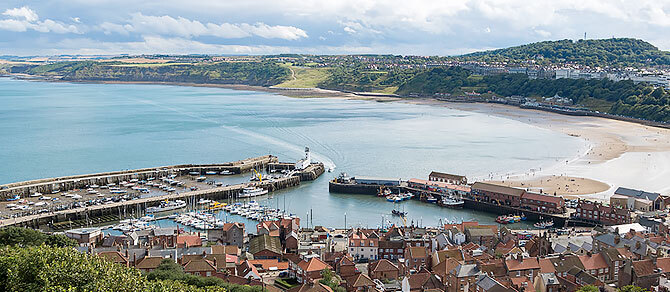 Luxury Train journey to the seaside town of Scarborough