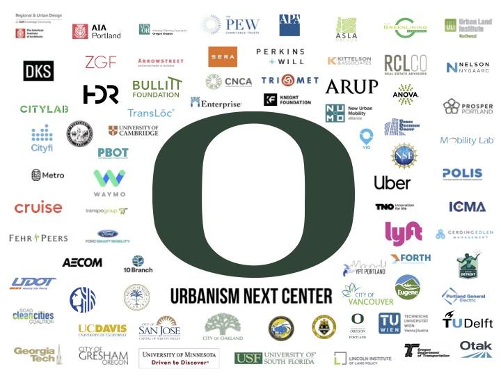 Collage of organization logos