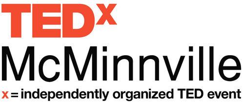 TEDx mcminnville logo