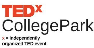 TEDx college park logo