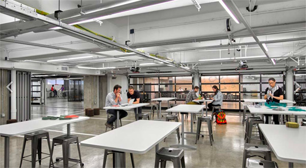 northwestern university garage renovation interior
