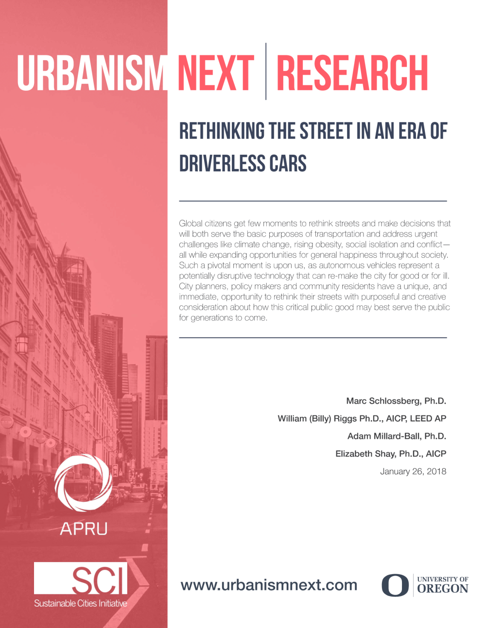 Rethinking the Street in an Era of Driverless Cars