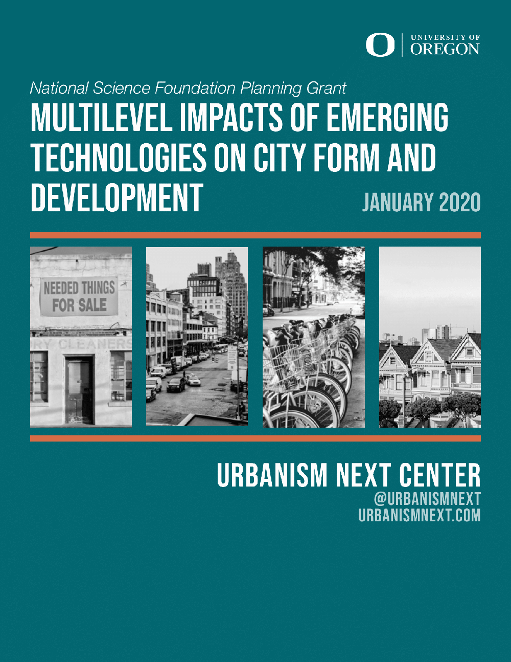 Multilevel Impacts of Emerging Technologies on City Form and Development