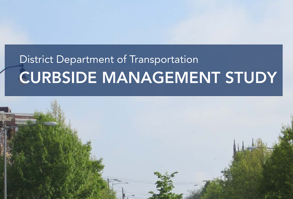 Curbside Management Study report front page