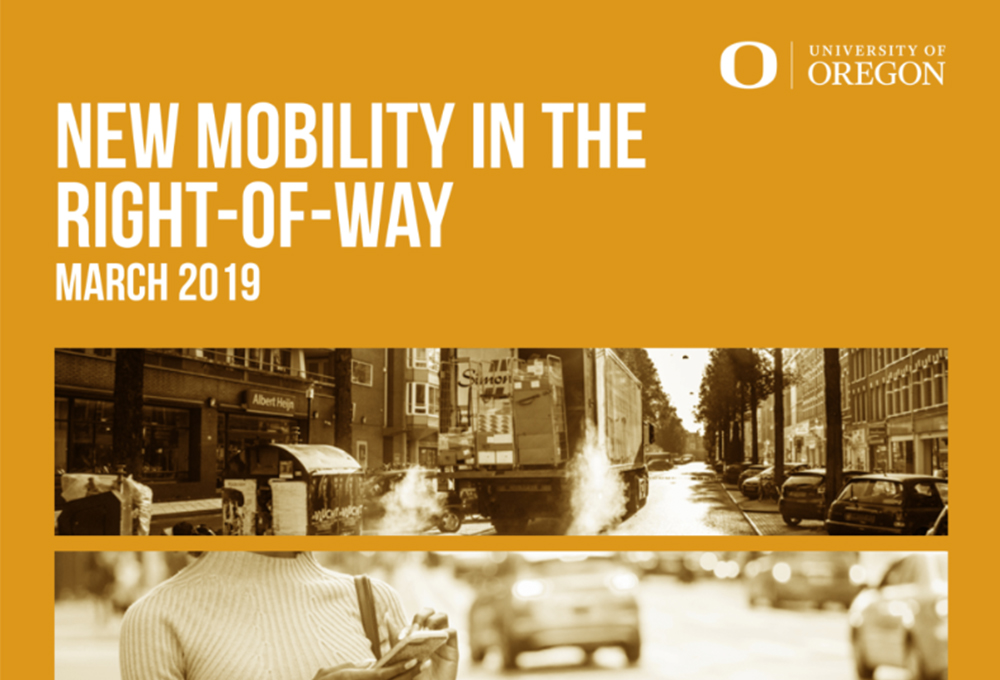 new mobility in the right-of-way report front page