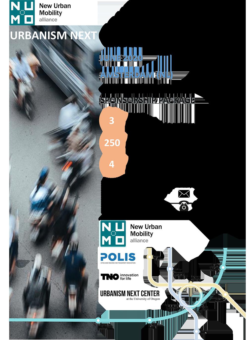 Urbanism Next European Conference 2020 – Sponsorship Brochure