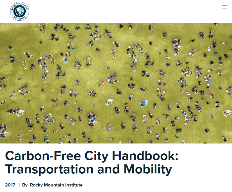 Carbon-Free City Handbook: Transportation and Mobility